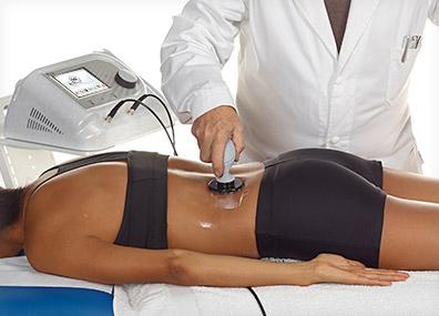 Applicazione Tecarterapia